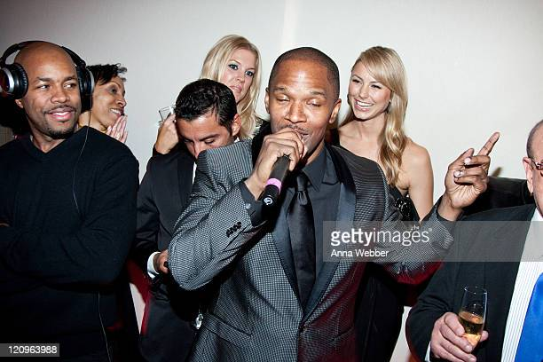 Jamie Foxx attends L'Ermitage on January 29 2010 in Los Angeles California