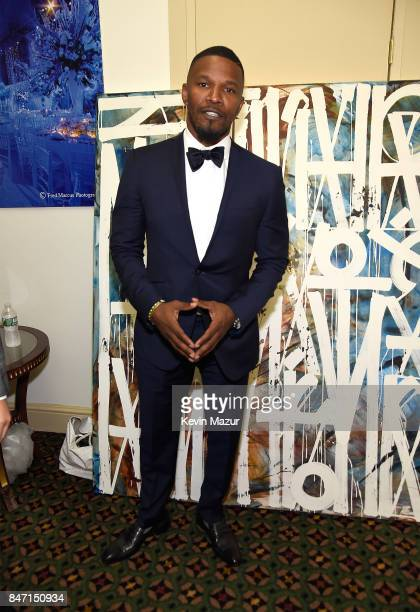 Jamie Foxx attends Rihanna's 3rd Annual Diamond Ball Benefitting The Clara Lionel Foundation at Cipriani Wall Street on September 14 2017 in New York...