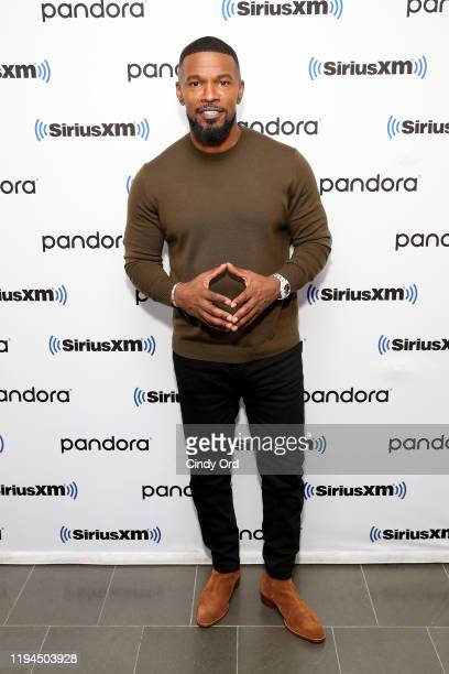 Jamie Foxx attends SiriusXM's Urban View 'Just Mercy' Town Hall with Michael B. Jordan & Jamie Foxx on December 17, 2019 in New York City.