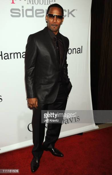 Jamie Foxx attends the 2009 GRAMMY Salute to Icons honoring Clive Davis at the Beverly Hilton Hotel on February 7 2009 in Beverly Hills California