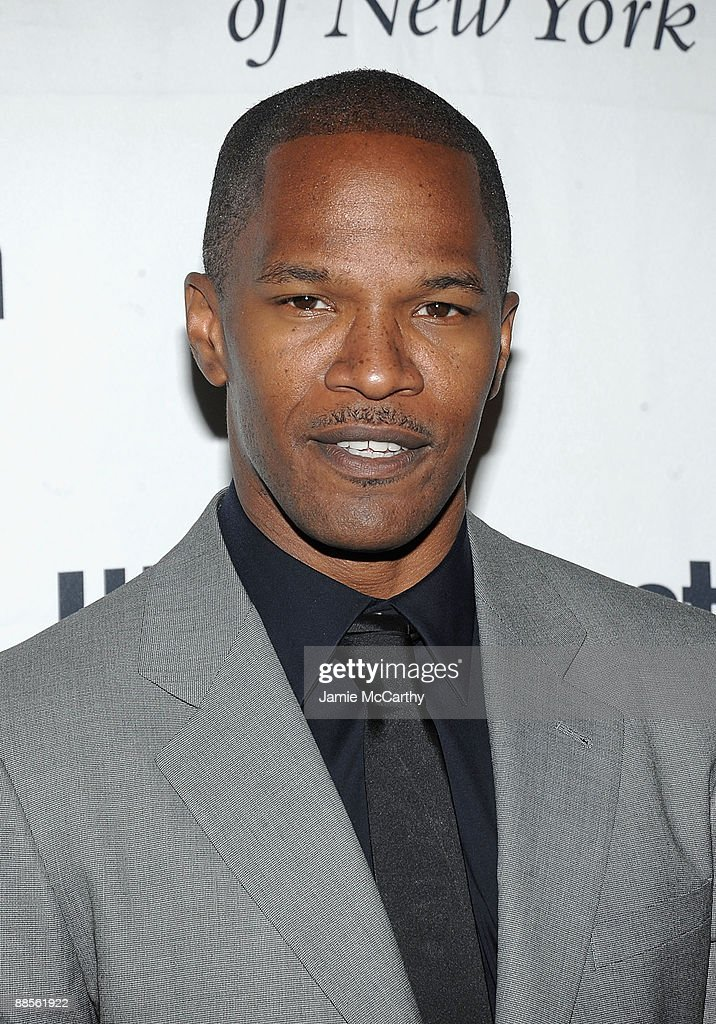 Jamie Foxx attends the 2009 UJA-Federation of New York Music Visionary of the Year event at The Pierre Hotel on June 18, 2009 in New York City.