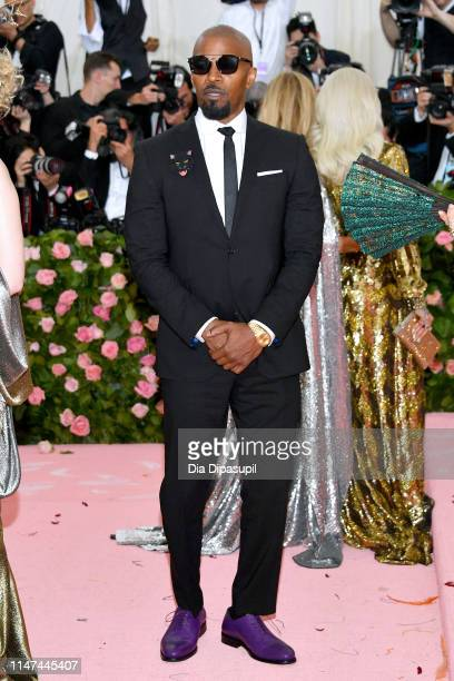 Jamie Foxx attends The 2019 Met Gala Celebrating Camp Notes on Fashion at Metropolitan Museum of Art on May 06 2019 in New York City