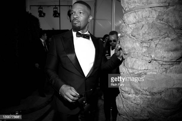 Jamie Foxx attends the 26th Annual Screen Actors Guild Awards at The Shrine Auditorium on January 19 2020 in Los Angeles California
