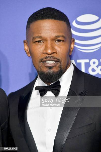 Jamie Foxx attends the 31st Annual Palm Springs International Film Festival Film Awards Gala at Palm Springs Convention Center on January 02, 2020 in...