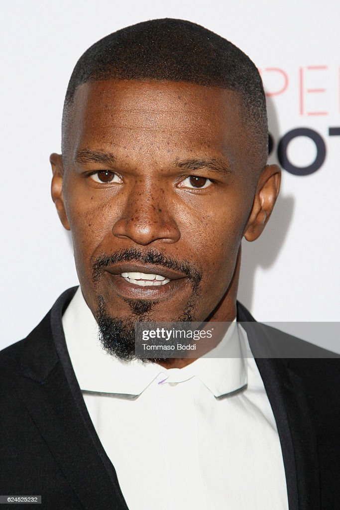 Jamie Foxx attends the 3rd Annual Airbnb Open Spotlight at Various Locations on November 19, 2016 in Los Angeles, California.