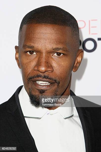 Jamie Foxx attends the 3rd Annual Airbnb Open Spotlight at Various Locations on November 19 2016 in Los Angeles California