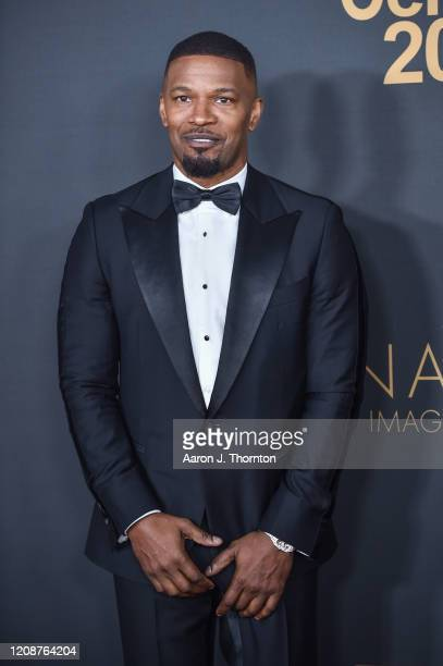 Jamie Foxx attends the 51st NAACP Image Awards at the Pasadena Civic Auditorium on February 22, 2020 in Pasadena, California.
