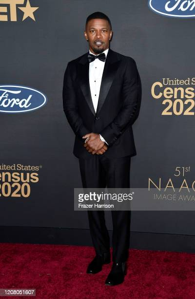Jamie Foxx attends the 51st NAACP Image Awards Presented by BET at Pasadena Civic Auditorium on February 22 2020 in Pasadena California