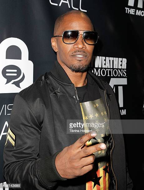 Jamie Foxx attends the 9th annual celebrity classic toy drive and basketball game at Cal State Northridge on December 15 2013 in Northridge California