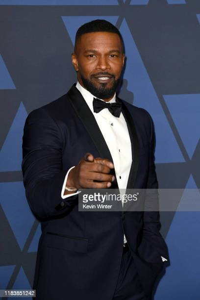Jamie Foxx attends the Academy Of Motion Picture Arts And Sciences' 11th Annual Governors Awards at The Ray Dolby Ballroom at Hollywood & Highland...