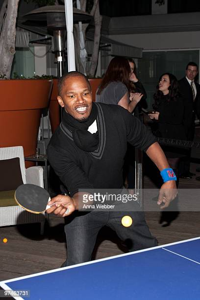 Jamie Foxx attends the ESPiN NYC PreOscar Party at Mondrian LA's SKYBAR on March 4 2010 in West Hollywood California