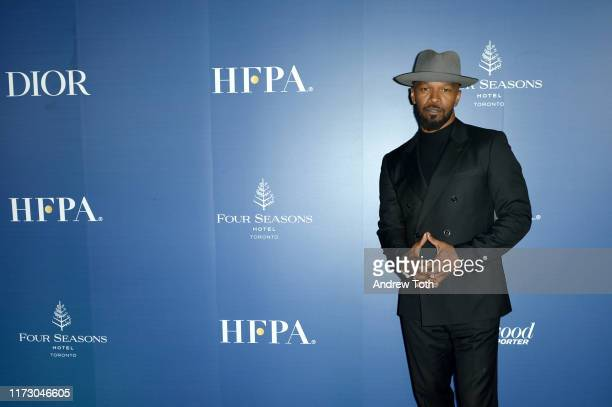 Jamie Foxx attends The Hollywood Foreign Press Association and The Hollywood Reporter party at the 2019 Toronto International Film Festival at Four...