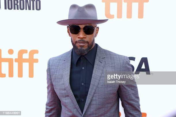 Jamie Foxx attends the Just Mercy premiere during the 2019 Toronto International Film Festival at Roy Thomson Hall on September 06 2019 in Toronto...