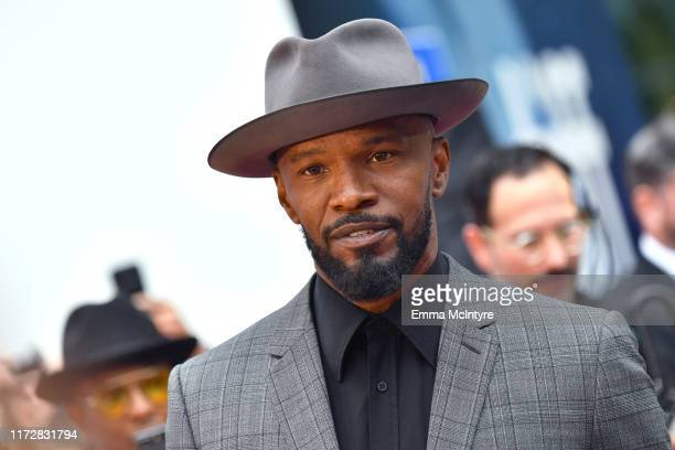"Jamie Foxx attends the ""Just Mercy"" premiere during the 2019 Toronto International Film Festival at Roy Thomson Hall on September 06, 2019 in..."