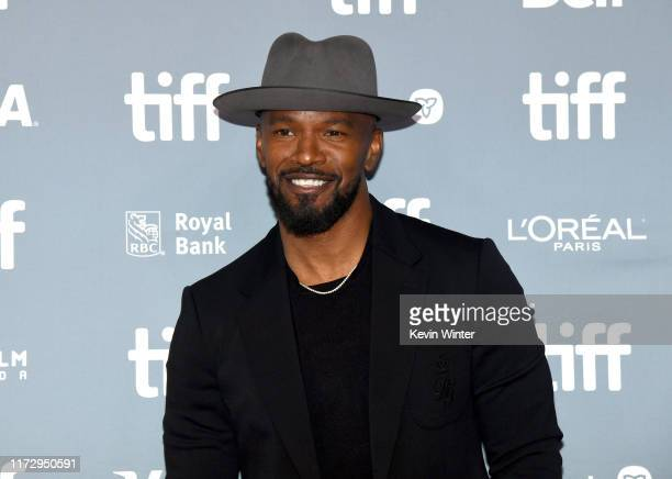 """Jamie Foxx attends the """"Just Mercy"""" press conference during the 2019 Toronto International Film Festival at TIFF Bell Lightbox on September 07, 2019..."""