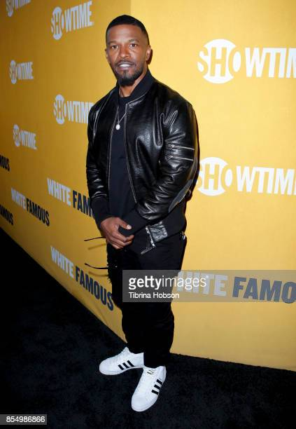Jamie Foxx attends the premiere of Showtime's 'White Famous' at The Jeremy Hotel on September 27 2017 in West Hollywood California