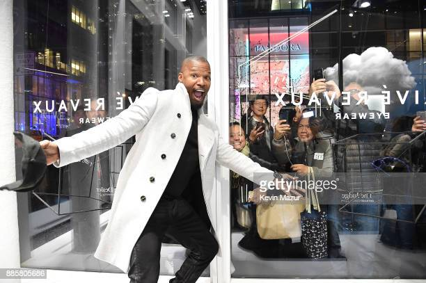 Jamie Foxx attends the Prive Reveaux eyewear flagship launch on December 4 2017 in New York City