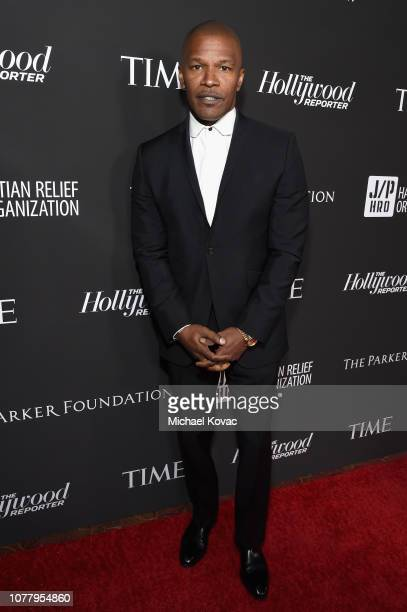 Jamie Foxx attends the Sean Penn CORE Gala benefiting the organization formerly known as J/P HRO its lifesaving work across Haiti the world at The...