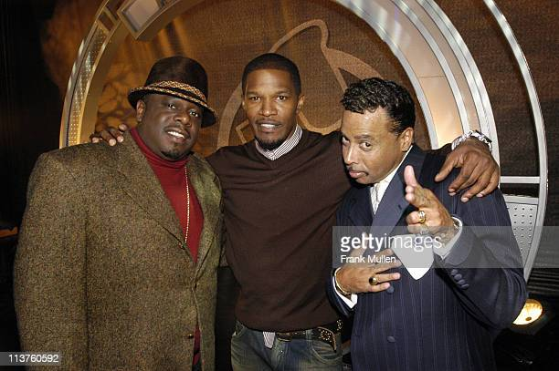 Jamie Foxx Cedric the Entertainer and Morris Day