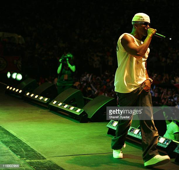 Jamie Foxx during HOT 97 Summer Jam 2006 at Giants Stadium in East Rutherford New Jersey United States