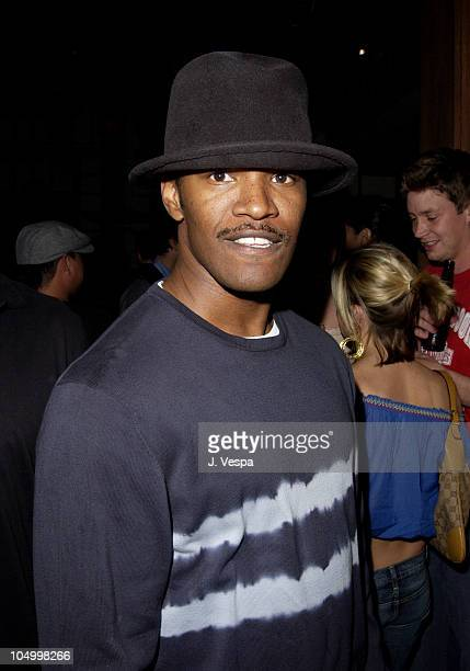 Jamie Foxx during Maxim Hot 100 Party Inside at Yamashiro in Hollywood California United States