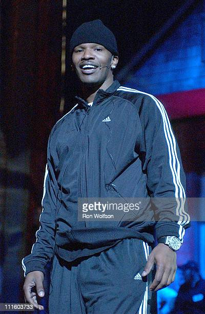 """Jamie Foxx during Taping of the Jamie Foxx TV Special """"Unpredictable"""" - January 20, 2006 at Orpheum Theatre in Los Angeles, California, United States."""