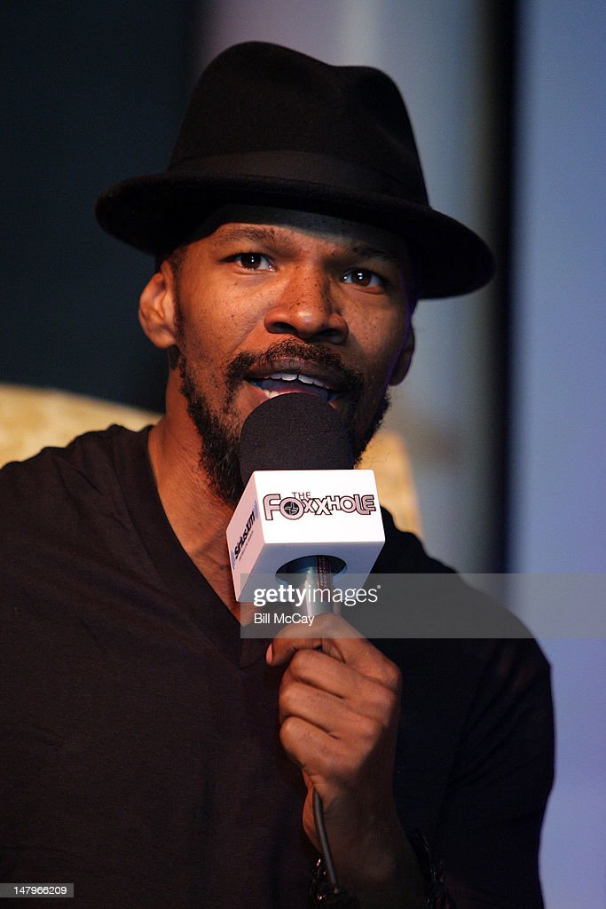 Jamie Foxx hosts his SiriusXM Foxxhole Radio Show live from