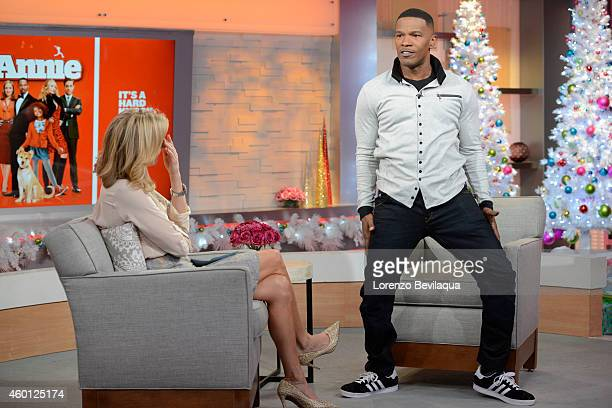 AMERICA Jamie Foxx is a guest on Good Morning America 11/24/14 airing on the Walt Disney Television via Getty Images Television Network