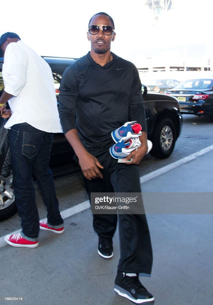 Jamie Foxx is seen on September 30, 2013 in Los Angeles, CA.
