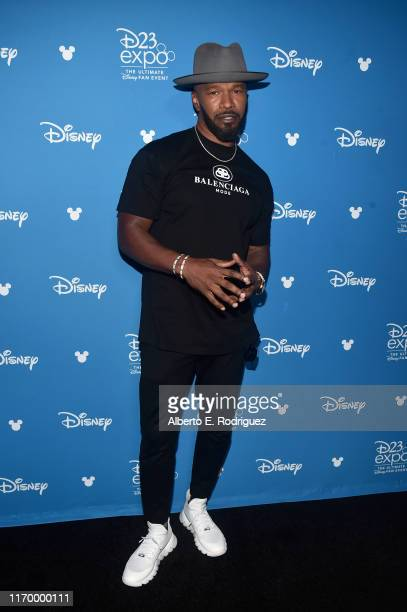Jamie Foxx of 'Soul' took part today in the Walt Disney Studios presentation at Disney's D23 EXPO 2019 in Anaheim, Calif. 'Soul' will be released in...