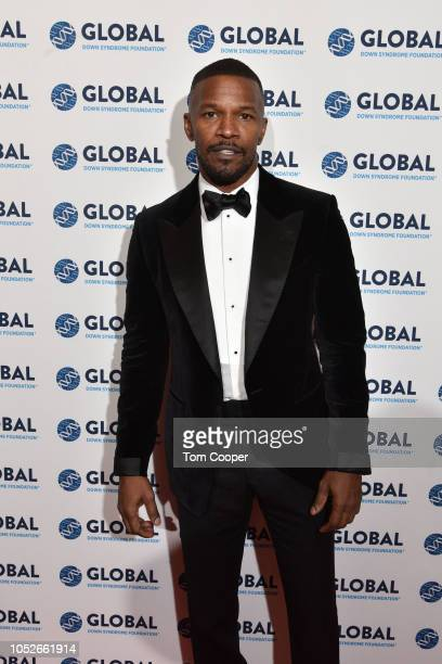 Jamie Foxx on the red carpet at the Global Down Syndrome 10th anniversary BBBY fashion show at Sheraton Denver Downtown Hotel on October 20 2018 in...
