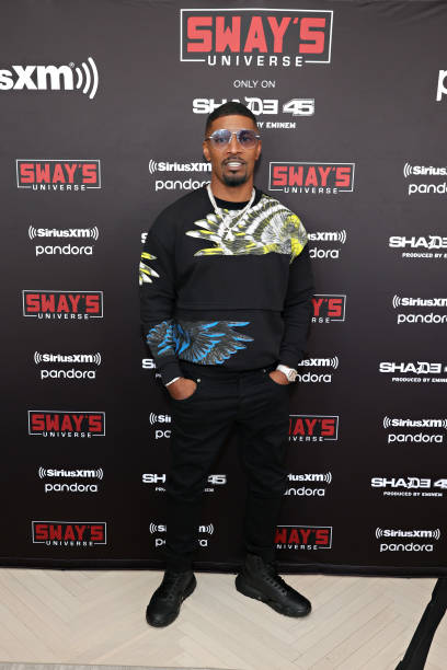 NY: Jamie Foxx Sits Down With SiriusXM's Sway Calloway On SiriusXM Shade 45's Sway In The Morning
