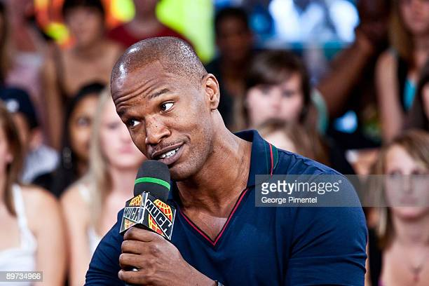 Jamie Foxx visits MuchOnDemand at the MuchMusic HQ on August 10 2009 in Toronto Canada