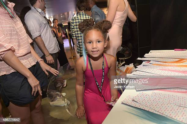 Jamie Foxx's daughter Annalise Bishop attends the premiere of My Little Pony Equestria Girls Rainbow Rocks at TCL Chinese Theatre on September 27...