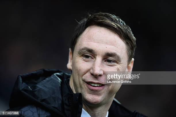 Jamie Fullarton of Notts County looks on during the Sky Bet League Two match between Notts County and Leyton Orient at Meadow Lane on February 20...