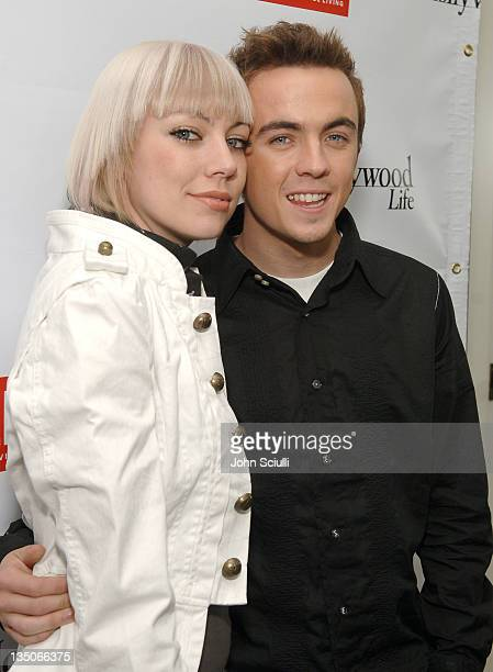 Jamie Gandy and Frankie Muniz during Diesel Presents Young Hollywood Awards Countdown March 30 2006 at Liberace's Penthouse in Los Angeles California...
