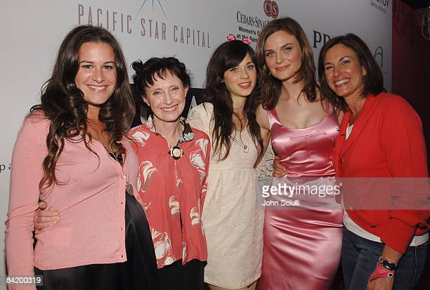 Jamie Gellar Mary Jo Deschanel Zooey Deschanel Emily Deschanel and Beth Karlan