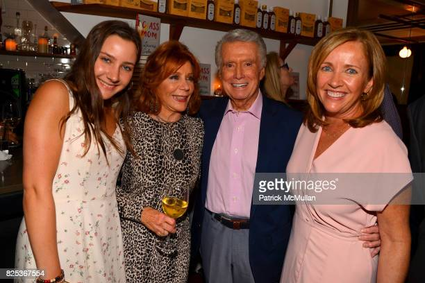Jamie Gelman Joy Philbin Regis Philbin and Laurie Gelman attend Michael Gelman Celebrates The Launch Of CLASS MOM A Novel By Laurie Gelman at Loi...