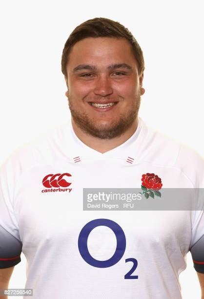 Jamie George of England poses for a portrait at The Lensbury on August 5 2017 in Teddington England