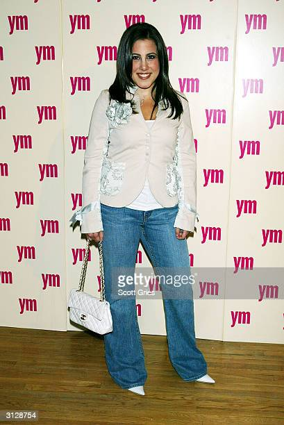 Jamie Gleicher arrives at the 5th Annual YM MTV Issue party at Spirit March 24 2004 in New York City