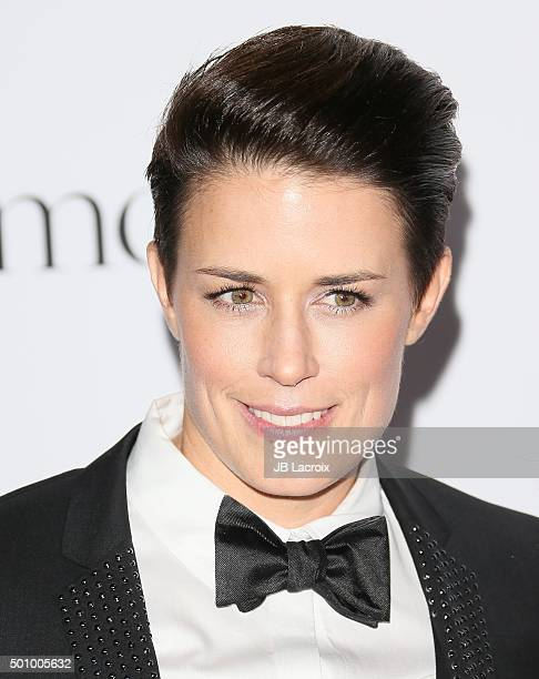 Jamie Granger attends the 2nd Annual Diamond Ball hosted by Rihanna and The Clara Lionel Foundation at The Barker Hanger on December 10 2015 in Santa...