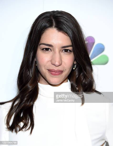 Jamie Gray Hyder attends NBC and The Cinema Society host a party For the casts of NBC Midseason 2020 at The Rainbow Room on January 23 2020 in New...