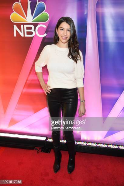 Jamie Gray Hyder attends the NBC Midseason New York Press Junket at Four Seasons Hotel New York on January 23 2020 in New York City