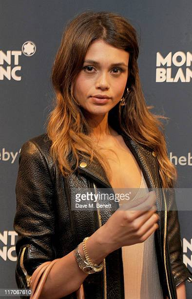 Jamie Gunn attends the Impressionist and Modern Arts Sales private view and Montblanc de la Culture 20th Anniversary Patron of Art Exhibition at...