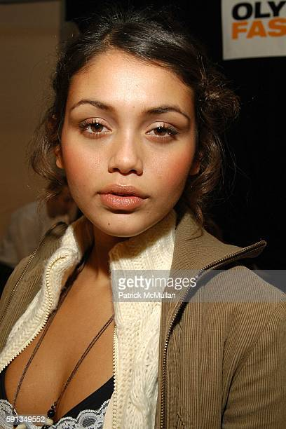 Jamie Gunns attends Cynthia Rowley Camp Rowley Fall 2005 Collection Fashion Show at The Atelier Tent on February 9 2005 in New York City