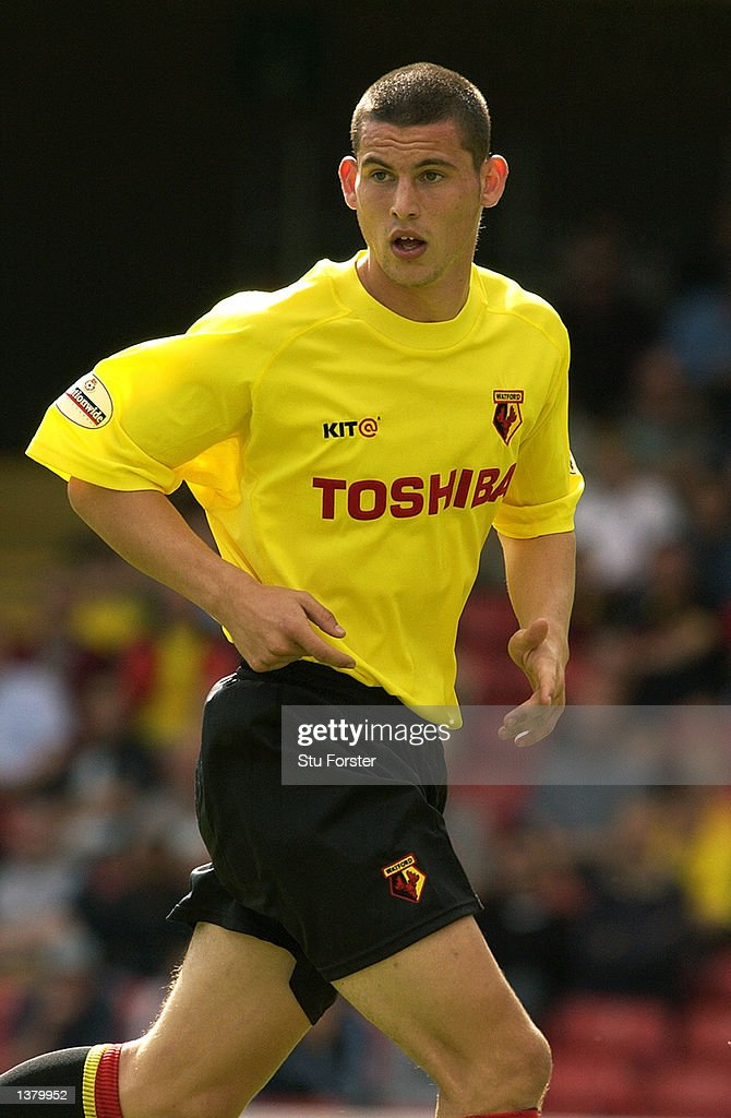 Jamie Hand of Watford during the Nationwide League Division One match between Watford and Walsall at Vicarage Road in Watford, England on September 7, 2002.