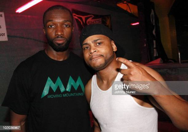 Jamie Hector and JD Williams attend Moving Mountains Inc.'s 2010 Fund Raising Weekend on June 12, 2010 in New York City.