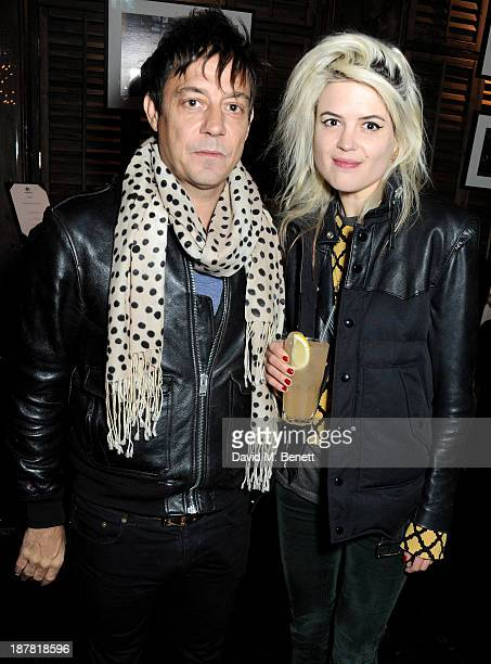 Jamie Hince and Alison Mosshart attend #VauxhallPresents Made in England by Katy England screening hosted by Vauxhall Motors at The King's Head...