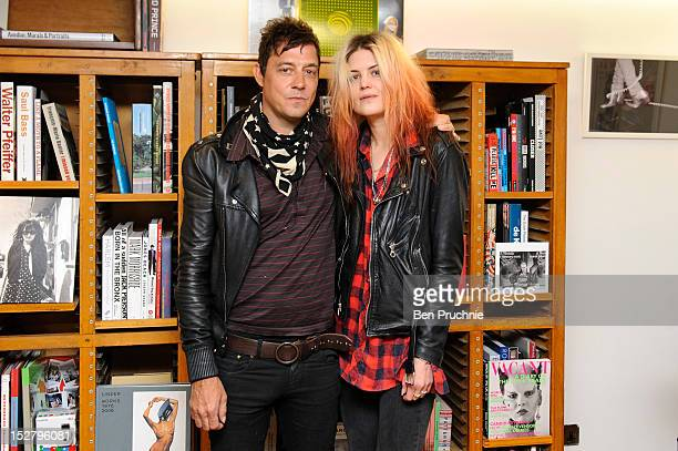 Jamie Hince and Alison Mosshart of The Kills meets fans and signs copies of 'Dream and Drive' on September 26 2012 in London England
