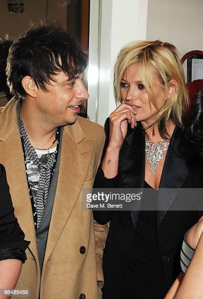 Jamie Hince and Kate Moss attend the Mummy Rocks official launch and charity auction in aid of the Great Ormond Street Hospital Children's Charity at...